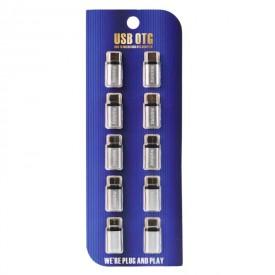 تبدیلMicro USB به Remax Type-C بسته10عددی