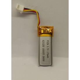 باتری لیتیوم باتری لیتیوم 170mAh 30*1.2*5.8mmکد5224