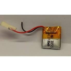 باتری لیتیوم باتری لیتیوم 80mAh 18*12*3mmکد5832