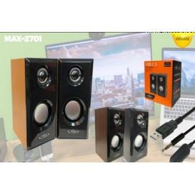 اسپیکر ۲ تیکه Vanmaax مدل MAX-S2701