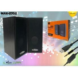 اسپیکر ۲ تیکه Vanmaax مدل MAX-S2702
