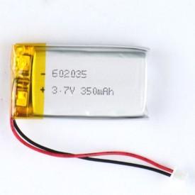 باتری لیتیوم ۳۵۰mAh 5*20*37mm کد 5965