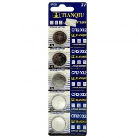 باتری سکه ای TIANQIU مدل CR2032