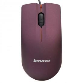 ماوس سیم دار Lenovo جعبه خاکی