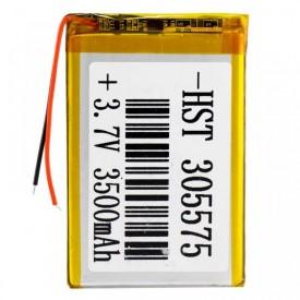 باتری لیتیوم ۳۵۰۰mAh 79*50*3.5mm 305575