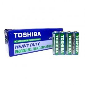 باتری قلمی AA توشیبا مدل Heavy Duty شرینک