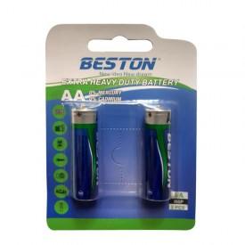 باتری قلمی AA برند BESTON مدل EXTRA HEAVY DUTY