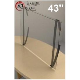 محافظ صفحه تلویزیون 43 اینچ ضخامت 2ML