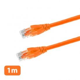 کابل شبکه 1 متری وریتی مدل CAT6 نارنجی