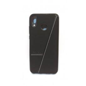 گارد طرح چرم Sentexمدل Huawei Y9 2019مشکی
