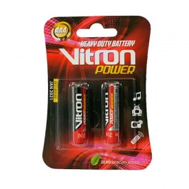 باتری نیم قلمی AAA برند Vitron کارتی