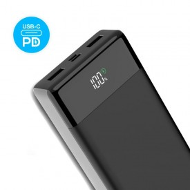پاوربانک Verity ظرفیت 20000mAh فست شارژ مدل V-PA124PD مشکی