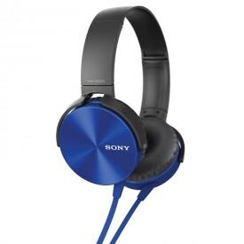 هدفون با سیم Sony مدل MDR-XB450 آبی