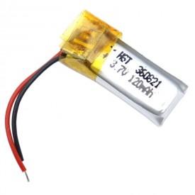 باتری لیتیوم ۱۲۰mAh 21*9*3mm 360821