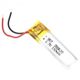 باتری لیتیوم ۱۵۰mAh 28*9*2mm 350629