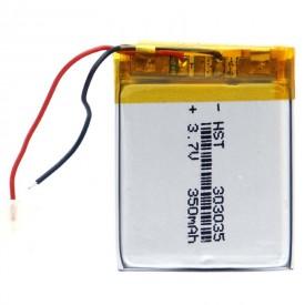 باتری لیتیوم ۳۵۰mAh 34*23*4mm 303035