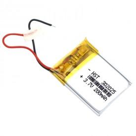 باتری لیتیوم ۲۰۰mAh 26*19*2mm 302025