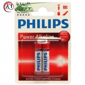 باتری نیم قلمی Philips|باتري جعبه اي|باتري|باطري|باتري فيليپس|كيوان كالا