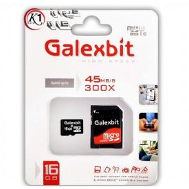 كارت حافظه MicroSDHC گلكس بيت ظرفيت 16 گيگابايت|galexbit|16GB|رم|مموري|كارت حافظه|كيوان كالا