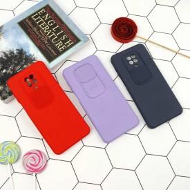 قاب سیلیکونی محافظ لنز کشویی Xiaomi Note9s/Note9Pro