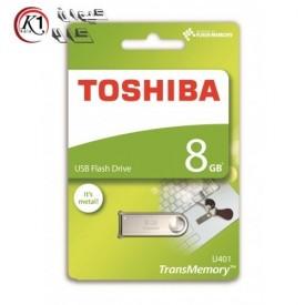 فلش توشیبا مدل U401 ظرفیت 8گیگابایت|Toshiba U401 Flash Memory 8GB|کیوان کالا