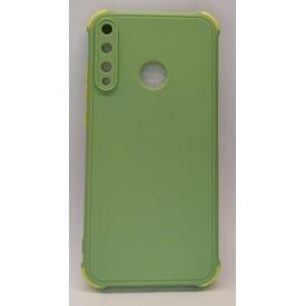 قاب سیلیکونی محافظ لنزدار Huawei Y7P