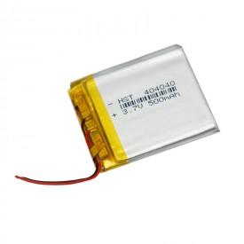 باتری لیتیوم ۵۰۰mAh 41*36*2mm 404040