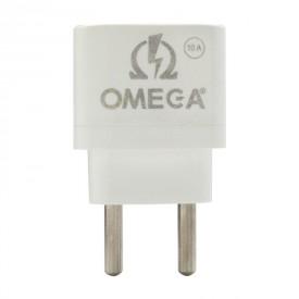 تبدیل ۳ به ۲ برق ۱۰ آمپر Omega 14732