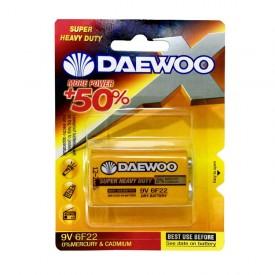 باتری 9V کتابی Super Heavy Duty برند DAEWOO کارتی