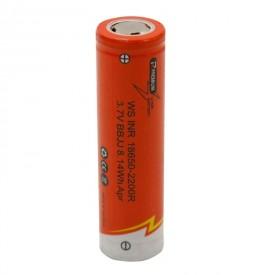 باتری لیتیوم WS INR BBJJ 18650 2200mAh