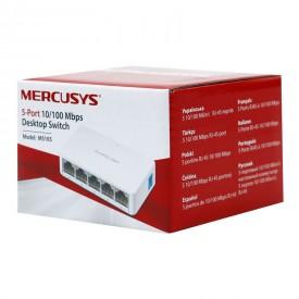 سوییچ 5 پورت شبکه Mercusys مدل MS105