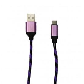 کابل شارژ Micro USB کنفی سرفلزی