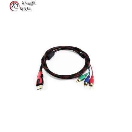 کابل 1.5 متری تبدیل HDMI به AV سه فیش