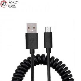 کابل Micro USB فنری|کیوان کالا
