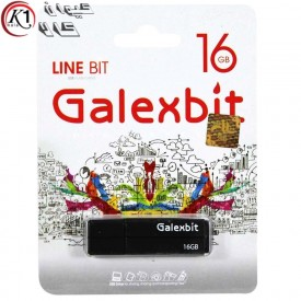 فلش مموری گلکس بیت مدل Line Bit ظرفیت 16گیگابایت  Galexbit Line Bit Flash Memory 16GB کیوان کالا