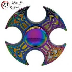 اسپينر فلزي طرح تبر 7 رنگ|Spinner|كيوان كالا