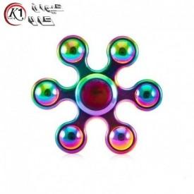 اسپینر فلزی شش پره 7 رنگ|Spinner|كيوان كالا
