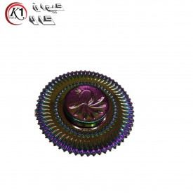 اسپينر فلزي طرح طاووسي 7 رنگ|Spinner|كيوان كالا