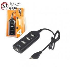 هاب يو اس بي 4 پورت آداپتوري|HUB USB 4 Port|كيوان كالا