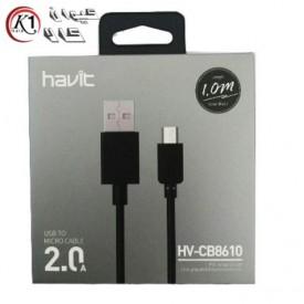 کابل USB به MicroUSB هویت مدل HV-CB8610