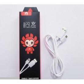 کابل شارژ میکرو یو اس بی Huawei مدل flash cable