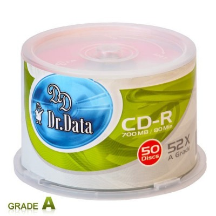 سی دی خام دکتر دیتا باکسدار 50 عددی
