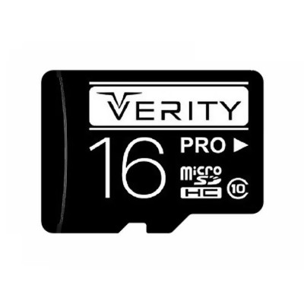 کارت حافظه میکرو اس دی VERITY سری Pro 200X ظرفیت 16 گیگابایت