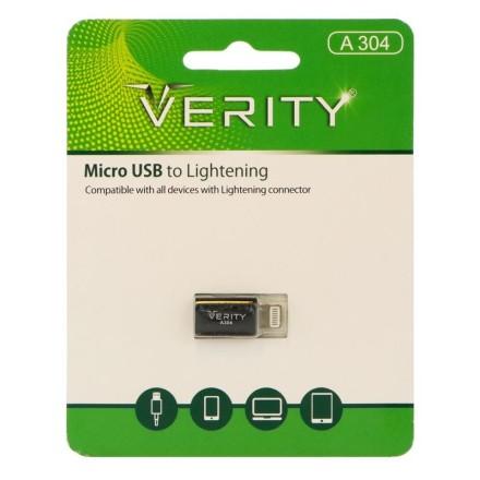 تبدیل micro USB به Lightning وریتی مدل A304