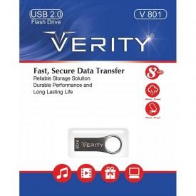 فلش درایو Verity مدل V801 ظرفیت 8 گیگابایت