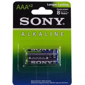 باتری نیم قلمی AA آلکالاین SONY دو عددی