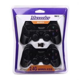 دسته بازی دوبل بی سیم Maxeeder مدل MX-GP8110 WN12