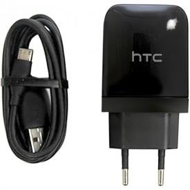 شارژر میکرو یو اس بی HTC همراه با کابل