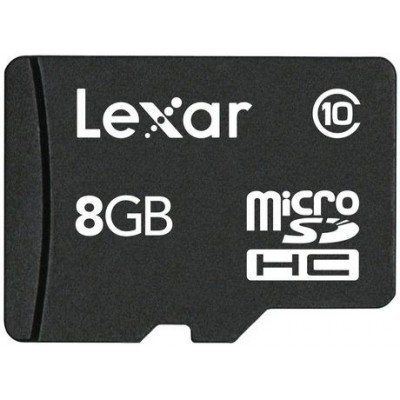 Lexar  8GB microSDHC كارت حافظه MicroSDHC لكسار ظرفيت 8 گيگابايت رم كارت حافظه مموري ارزان كيوان كالا