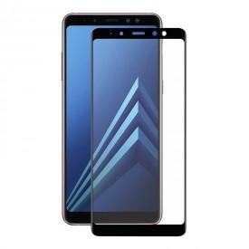 گلس تمام چسب برای موبایلSamsung A8 Plus 2018